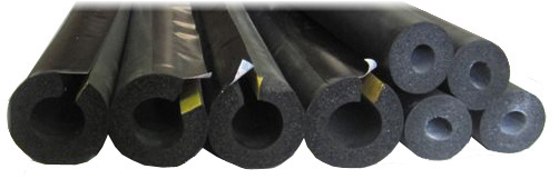 high temperature rubber solar pipe insulation